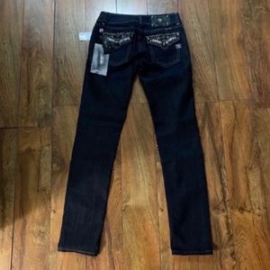 New with tags, Gorgeous Miss Me skinny jeans